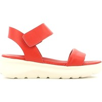 Shoes Women Sandals Fornarina PEFVH9510WCA7600 Wedge sandals Women Red Red