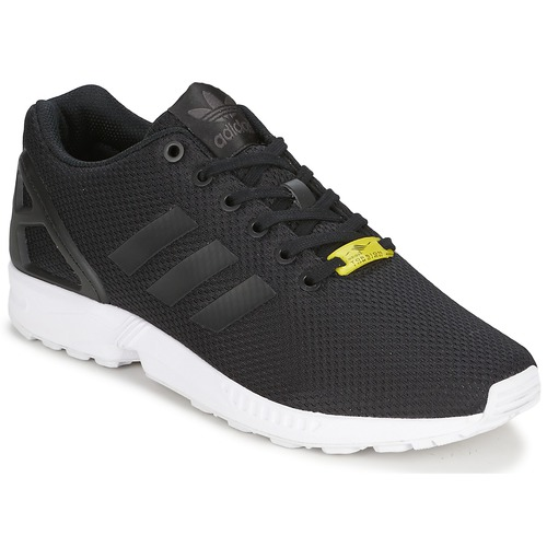 659de22bdc5906 adidas Originals ZX FLUX Black   White - Free delivery with Spartoo ...