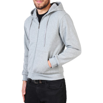 Clothing Men sweatpants Krisp Mens Drawstring Hoodie {Grey } Grey