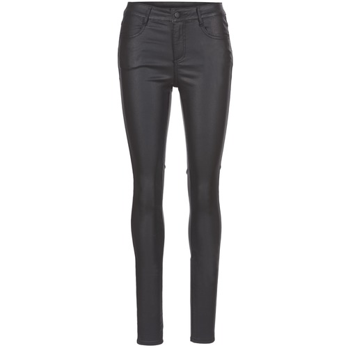 Clothing Women Slim jeans Vila VICOMMIT Black