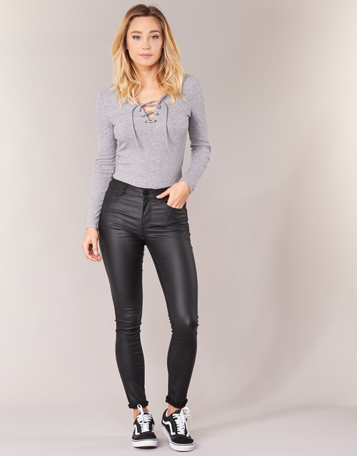Clothing Women 5-pocket trousers Vila VICOMMIT Black