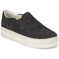 Shoes Women Slip ons Ash JUNGLE Black