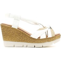 Shoes Women Sandals Keys 5476 Wedge sandals Women White White