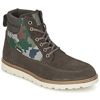 Shoes Men Mid boots Desigual CARLOS ANTHRACITE