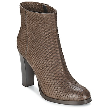 Shoes Women Ankle boots Alberto Gozzi MADRID T MORO Brown / SNAKE
