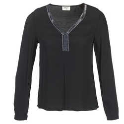 Clothing Women Tops / Blouses Betty London FALINDI Black