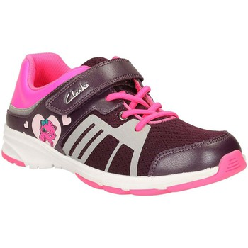 Purple gloforms trainers girlss childrens shoes trainers in purple