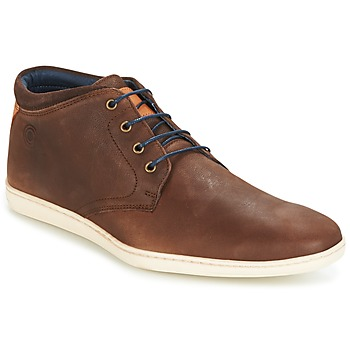 Shoes Men Hi top trainers Casual Attitude TUREN Brown