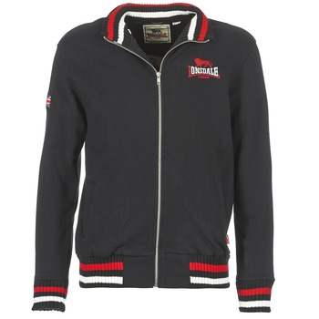 Clothing Men sweaters Lonsdale DOVER Black