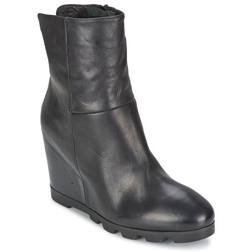 Shoes Women Ankle boots OXS IGLOO Black