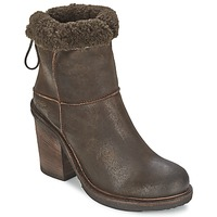 Shoes Women Ankle boots OXS MUCELAGO DARK / Brown