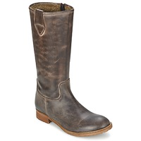 Shoes Women High boots Hip GUELINE Brown