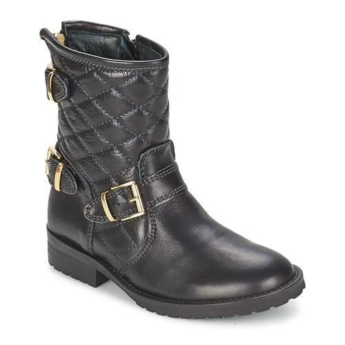 Shoes Girl Mid boots Hip RAVUTE Black