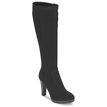 Shoes Women High boots Moony Mood FLORA Black