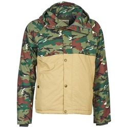 Clothing Men Jackets Franklin & Marshall JKMVA034 Kaki / Beige