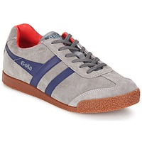 Shoes Men Low top trainers Gola HARRIER GREY / NAVY / RED