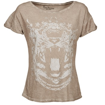 Clothing Women short-sleeved t-shirts Best Mountain ACCADUR TAUPE