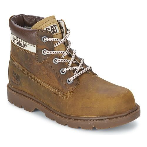 Shoes Children Mid boots Caterpillar COLORADO PLUS Beige