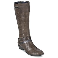 Shoes Women High boots Dorking NINA Grey