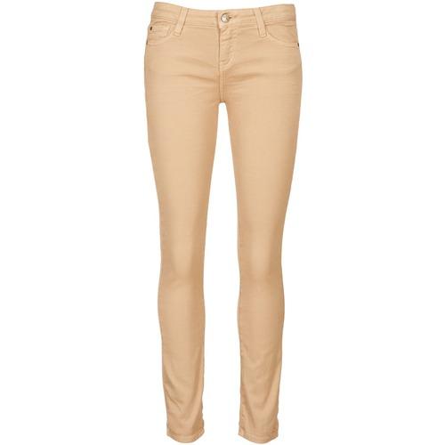 Clothing Women Cropped trousers Acquaverde SCARLETT Cream