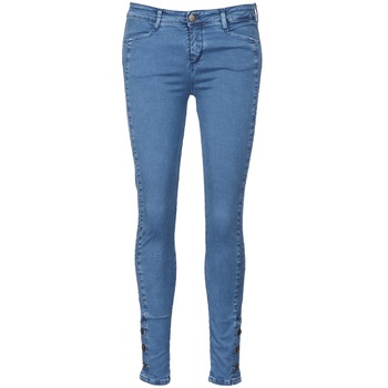 Clothing Women slim jeans Acquaverde ALFIE Blue / Clear