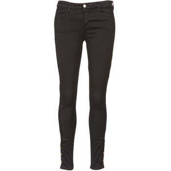 Clothing Women slim jeans Acquaverde ALFIE Black
