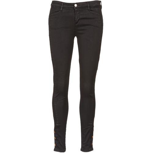 Clothing Women Slim jeans Acquaverde ALFIE Black