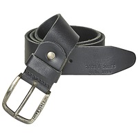 Clothes accessories Men Belts Jack & Jones PAUL Black