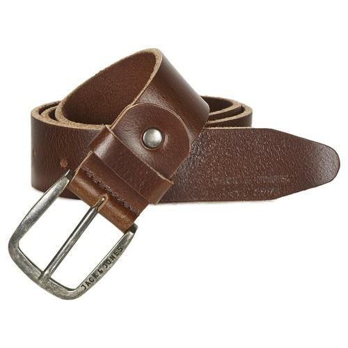 Clothes accessories Men Belts Jack & Jones PAUL Brown