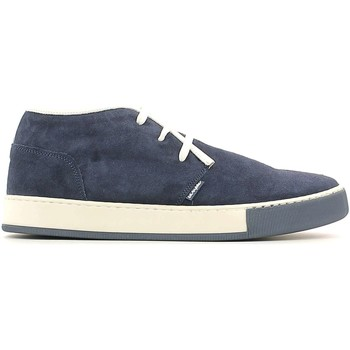 Shoes Men Mid boots Byblos Blu 662451 Ankle Man Blue Blue