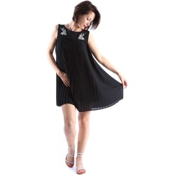 Clothing Women Short Dresses Denny Rose 63DR11017 Dress Women Black Black