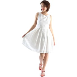Clothing Women Short Dresses Animagemella 16PE117 Dress Women White White