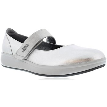 Shoes Women Flat shoes Joya DELIA CAVIAR SILVER