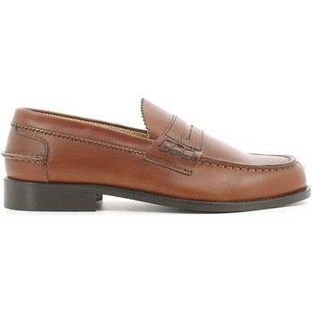 Shoes Men Loafers Marco Ferretti 18523 Mocassins Man Cuoio Cuoio