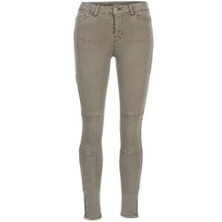 Clothing Women slim jeans Vero Moda SEVEN TAUPE