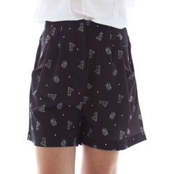 Clothing Women Shorts / Bermudas Animagemella 16PE054 Shorts Women Black Black