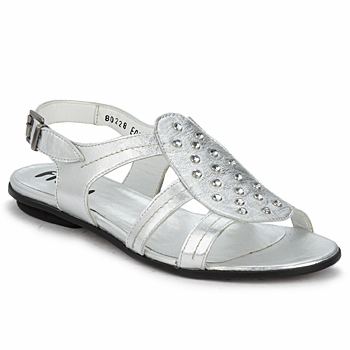 Shoes Women Sandals Fidji BARRETA Silver
