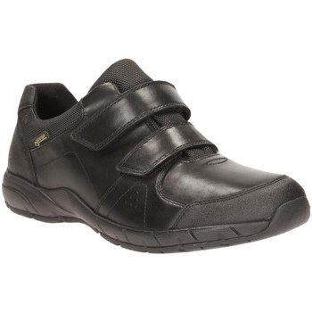 Clarks  TraxFun GTX Bootleg Boys Waterproof School Shoes  boyss Childrens Shoes (Trainers) in black