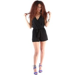 Clothing Women Jumpsuits / Dungarees Café Noir JA409 Tuta Women Nero