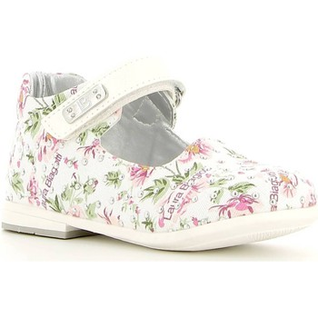 Shoes Children Flat shoes Laura Biagiotti 1040 Ballet pumps Kid Bianco Bianco