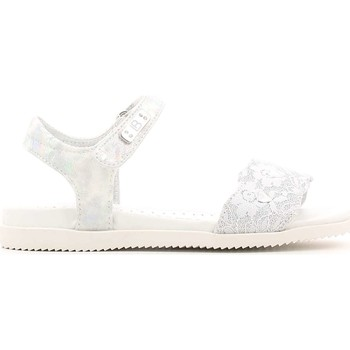 Shoes Sandals Laura Biagiotti 1264 Sandals Kid Silver Silver