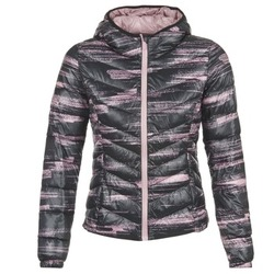 Clothing Women Duffel coats Only Play OLIVIA Black / Pink