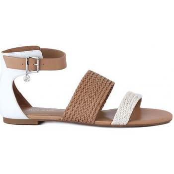 Armani  Jeans  GIORGIO ARMANI  SANDALO  WHITE  womens Sandals in multicolour