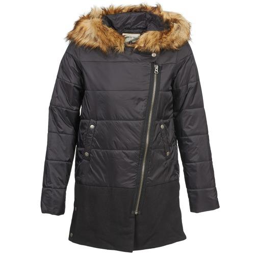 Clothing Women Duffel coats Chipie EDITHE Black