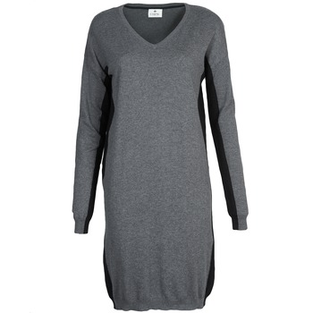 Clothing Women Short Dresses Chipie MONNA Grey / Black