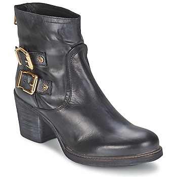 Shoes Women Ankle boots Meline LODU Black