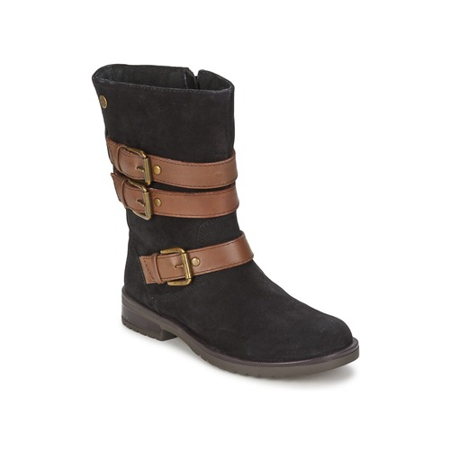 Shoes Girl High boots Gioseppo HALIFAX Black