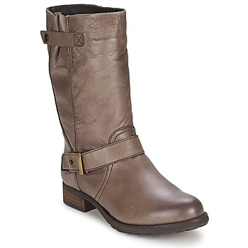 Shoes Women High boots Gioseppo FREIRE Taupe