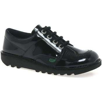 Shoes Women Derby Shoes Kickers Lo Girls Senior School Shoes black