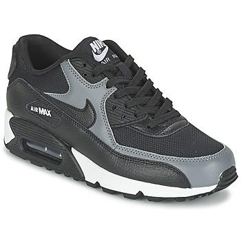 Shoes Women Low top trainers Nike AIR MAX 90 W Black / Grey
